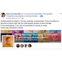 Recensioni per fotografa di neonati a Milano