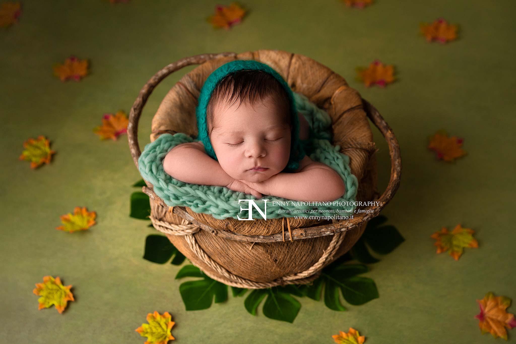 servizio fotografico newborn Leonardo